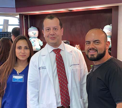 Juan P. Fernandez de Castro, M.D. Ophthalmologist