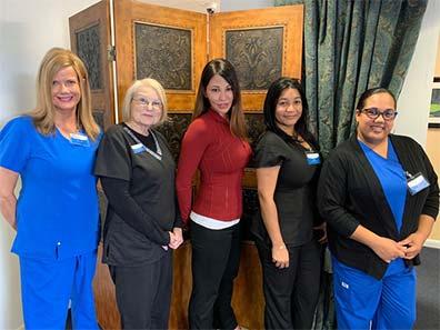 Dr. Allison Bertram Yee and Aesthetic Team