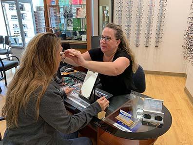 get an eye exam near me