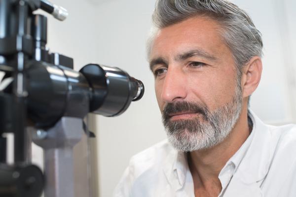 Ocular prosthesis specialist